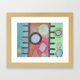 Trapped between two Worlds Framed Art Print