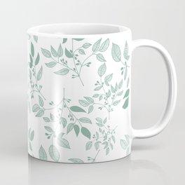 Sage green bushes Coffee Mug