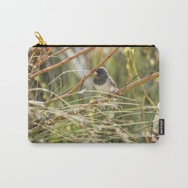 Dark-eyed Junco Sitting Pretty Carry-All Pouch