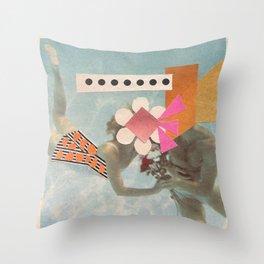 Underwater FantaSea Throw Pillow