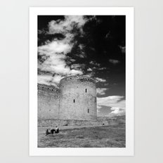 Ukrainian Castle Art Print
