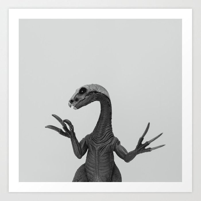 Dino Collection 2 of 4 Art Print