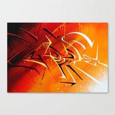 Light n' shad Canvas Print