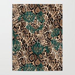Leopard Power Poster