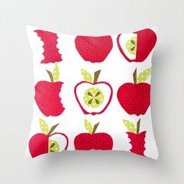 apple of my eye Throw Pillow