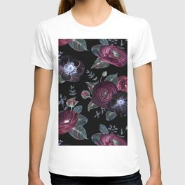 Fantasy Night Rose Red T-shirt