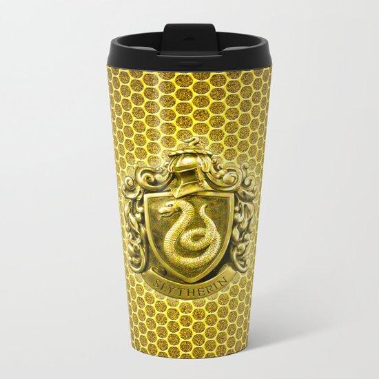 Slytherin Metal Travel Mug