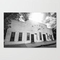 Gruene Hall - Oldest Dance Hall in Texas Canvas Print