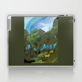 Brewing Storm With Sheep Laptop & iPad Skin