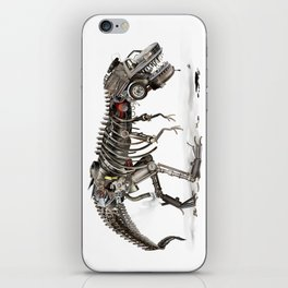 Mechanical T.Rex iPhone Skin