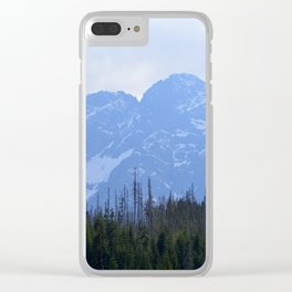 Tatry in May Clear iPhone Case
