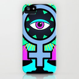 Equal Justice For All, or When Women Rule the World iPhone Case