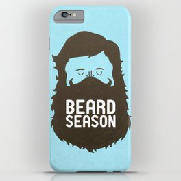 Beard Season iPhone Case