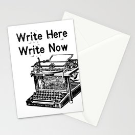Write Here, Write Now Stationery Cards