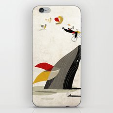 For a breath, the butterflies iPhone & iPod Skin