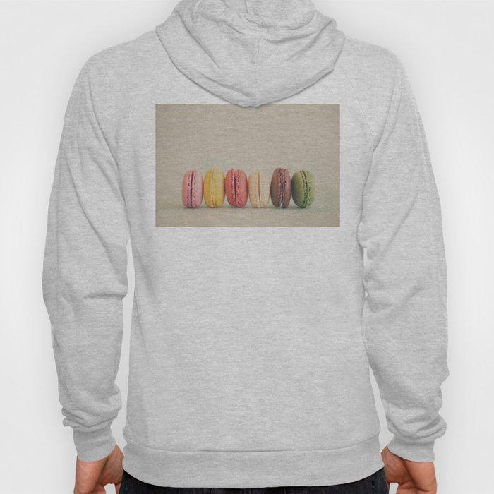 a macaron rainbow ... Hoody