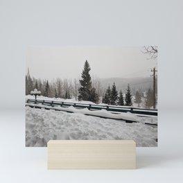 Beautiful Snow   Trees   Nature   Outdoors   Landscape Photography Mini Art Print