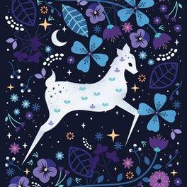 Bath Mat - Spirit Deer - Carly Watts