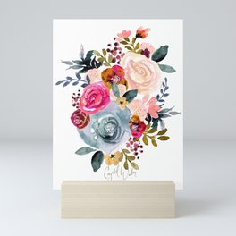 Autumn Rose Mini Art Print