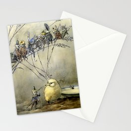 """Bother the Gnat"" by Duncan Carse Stationery Cards"