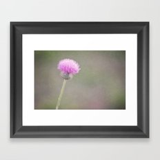 Plum Fairy Framed Art Print