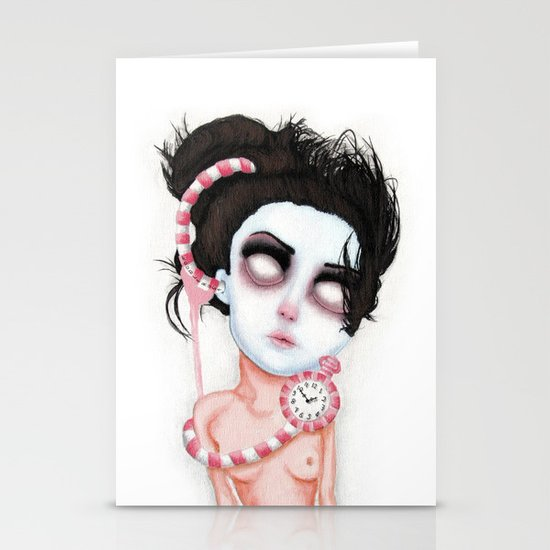 Endlessly Waiting  Stationery Cards