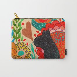 Sometimes My Love Is A Wild Thing Carry-All Pouch