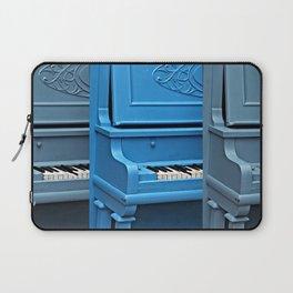 Piano Blues Laptop Sleeve