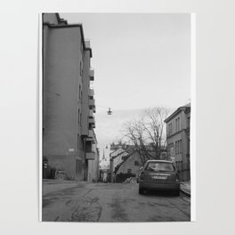 Streets in Stockholm Poster