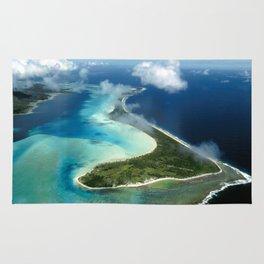 Bora Bora: South Pacific Paradise Rug