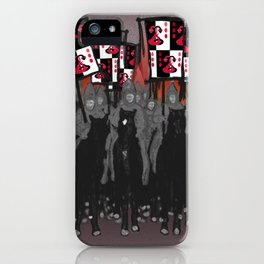 Year of the Snake: blazing banners iPhone Case
