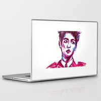 shinee Laptop & iPad Skins featuring SHINee Minho Everybody by sophillustration