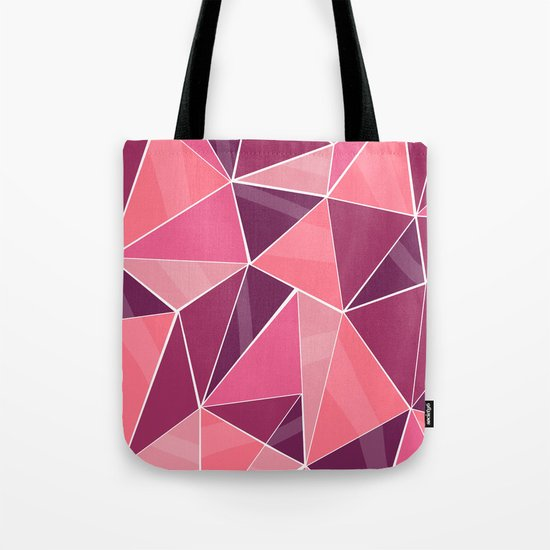 Pattern, pink Tote Bag