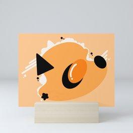 Scrambled in Space Mini Art Print