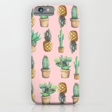 cactus and pineapples iPhone 6s Slim Case