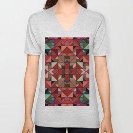 Latino Tiles Unisex V-Neck