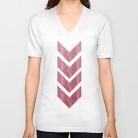 klimt V-neck T-shirts featuring klimt by littlehomesteadco
