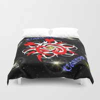 cancer Duvet Covers featuring Cancer by TrinityHawk Photography & Multimedia
