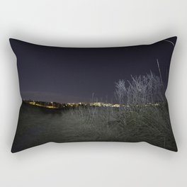 Nose Hill Park at night Calgary Rectangular Pillow