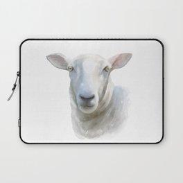 Watercolor Sheep Laptop Sleeve