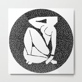 Henri Matisse - Blue nude I Metal Print