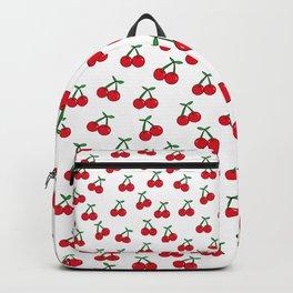 Cherries 1 (on white) Backpack
