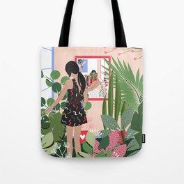 Plant Girl #3 Tote Bag