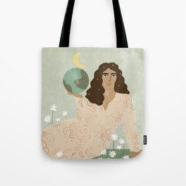 God is a Woman Tote Bag