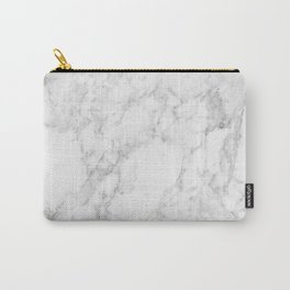 White Marble Edition 2 Carry-All Pouch