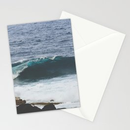 Lanzarote waves Stationery Cards