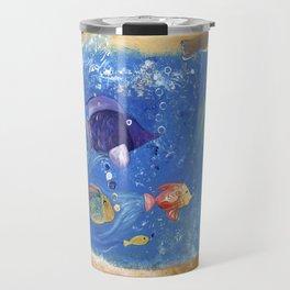 Salty Toes, Slippery Fish. Travel Mug