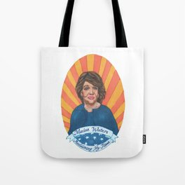 Women Who March: Maxine Waters Tote Bag