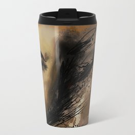 self portrait II Travel Mug