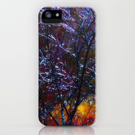 spring Ice Storm iPhone Case